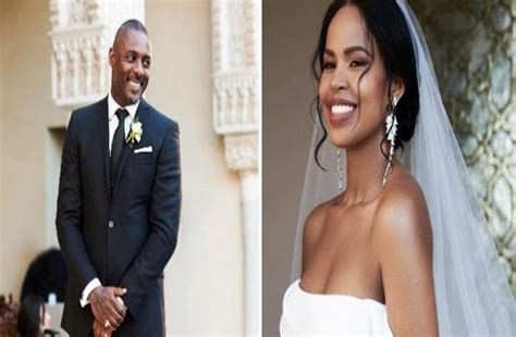 Idris Elba Ties Knot With Long Time Girlfriend ...
