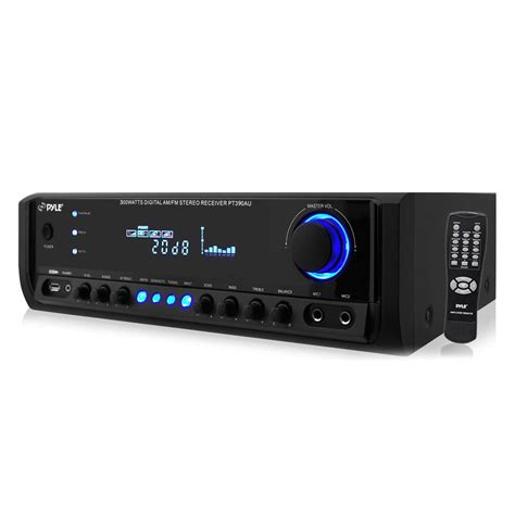 radio digital receiver new pyle pt390au 300 w digital stereo receiver system with
