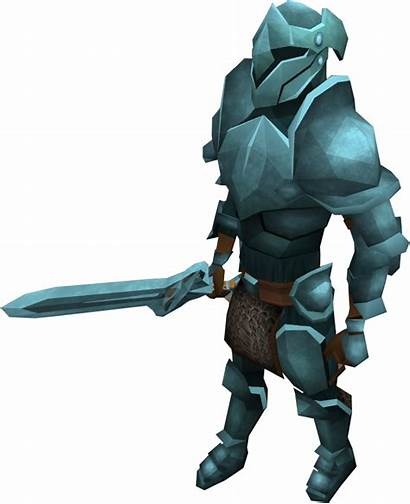 Rune Armour Animated Runescape Runite Guild Warriors