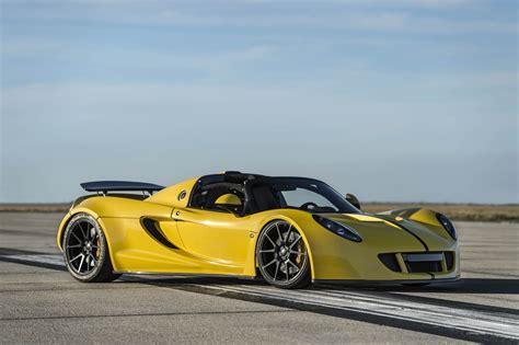 Hennessey Venom Gt Spyder Sets New World Speed