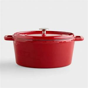 Cherry Oval Dutch Oven World Market