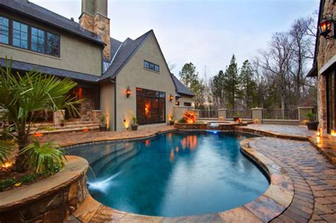 backyard with a pool the best backyard pools that you must see homesfeed