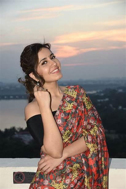 Khanna Raashi Latest Actress Photoshoot Saree Telugu