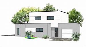 plan maison toit plat 120m2 10 a systembaseco With good photo maison toit plat 2 prix maison toit plat 120m2 images