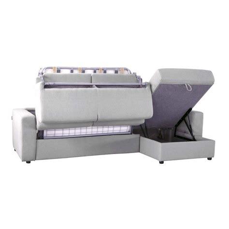 canap angle convertible microfibre canapé lit d 39 angle réversible microfibre ouverture