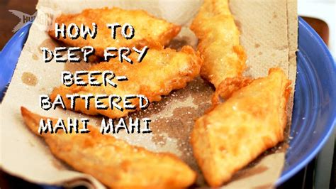 mahi deep fry battered beer