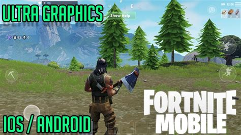 official fortnite mobile ultra graphics gameplay ios