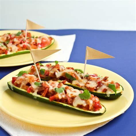 Recipes For Zucchini Boat by Enchilada Stuffed Zucchini Boats Healthy Ideas For