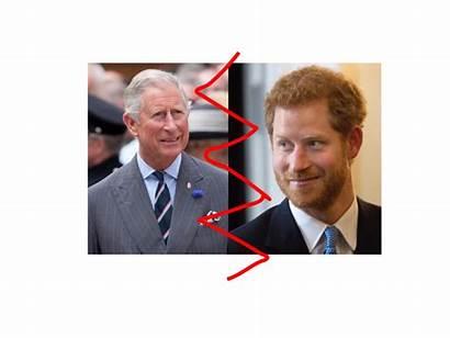 Prince Father Charles Harry Conspiracy University Harrys