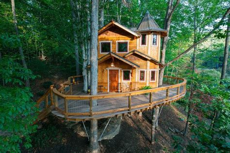 youll   spend  night    treehouses trip planning article  bestcom