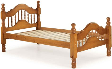 100% Solid Wood Dover Twin Platform Bed, 2 Colors