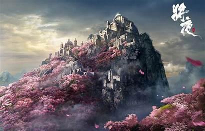 4k Japan Castle Wallpapers Mountain Laptop 1080p