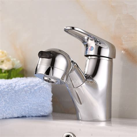 Bathtub Faucet Water by Unique Pull Out Copper Bathroom Faucet With Shower Water