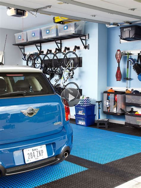 Garage Sports Organizer Plans  Woodworking Projects & Plans