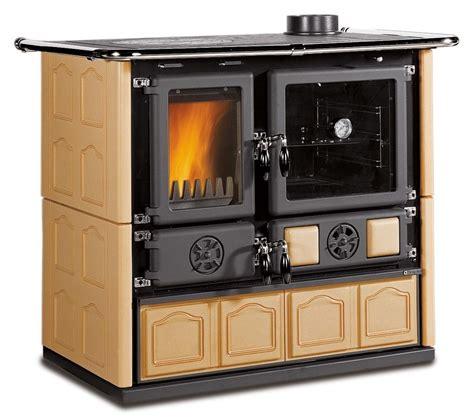antique kitchen wood cook stove la nordica quot rosa maiolica cappuccino quot wood
