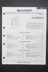 Sharp Jc Guide   Wiring Diagram