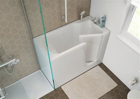 bathtubs  door   elderly goman