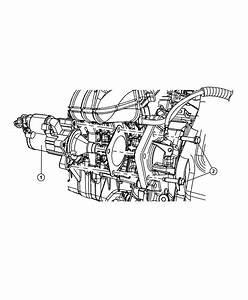 2012 Dodge Journey Starter  Engine  New Part For Core