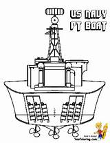 Coloring Navy Boat Pt Ship Sheet Pages Battleship Ships Yescoloring Boys Bold Unflinching sketch template