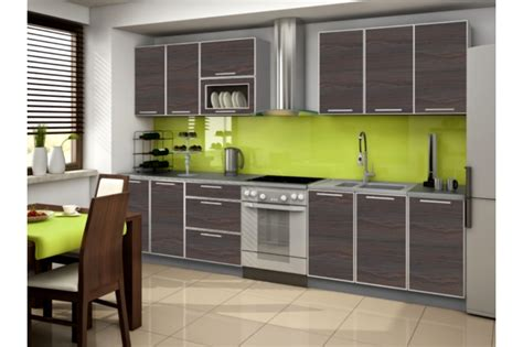 cuisine verte decoration de cuisine vert anis
