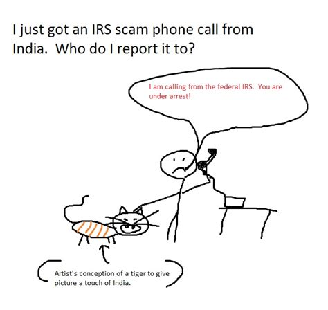 i just got an irs scam phone call from india who do i