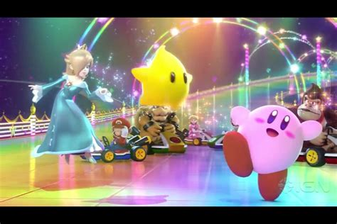 Rosalina Luma Kirby And The Other Mario Characters In