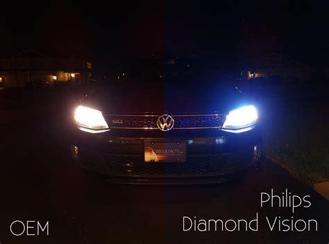 philips vision diamond vs headlight bulbs xenon hid tested halogen these brightness