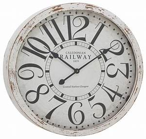 Antique-Themed and Classy Wood Wall Clock - Farmhouse