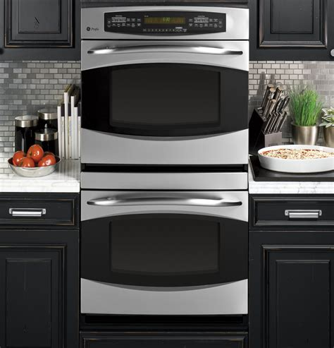 ge profile  built  double convection wall oven ptsrss ge appliances
