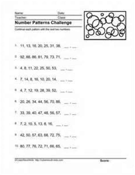 ks3 maths number patterns 1000 free patterns
