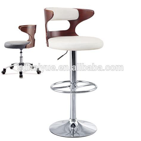 wholesale modern swivel white pu bar stools on alibaba