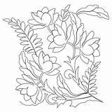Coloring Quilt Gourd Pano Sweetdreamsquiltstudio Stencils sketch template
