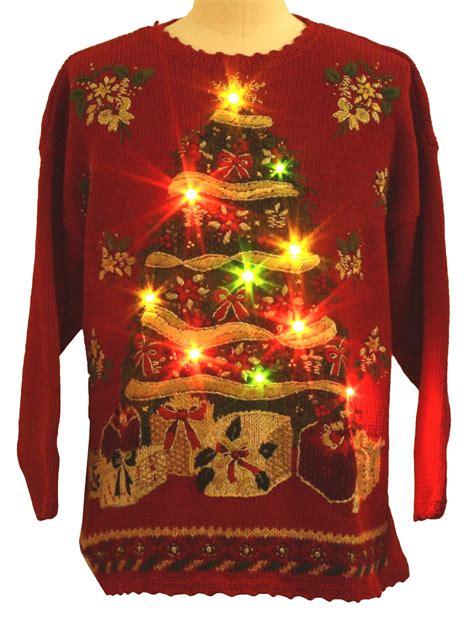 light up ugly sweater lightup ugly christmas sweater tiara international