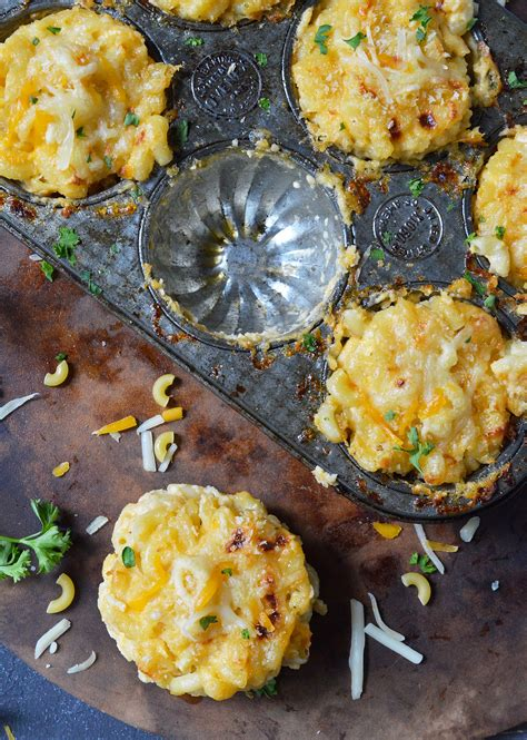 1 1/2 pounds cooked lobster meat. Mac n Cheese Muffins Recipe - WonkyWonderful