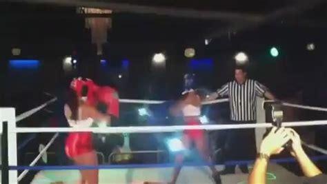 bad girls club chicks fight  strip club  hollywood