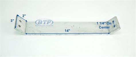 Boat Trailer Fender Bunks by Aluminum Boat Trailer Fender Or Bunk Support 17 Inch Hd
