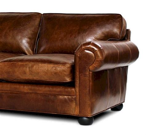 sedona lancaster oversized seating leather sofa set