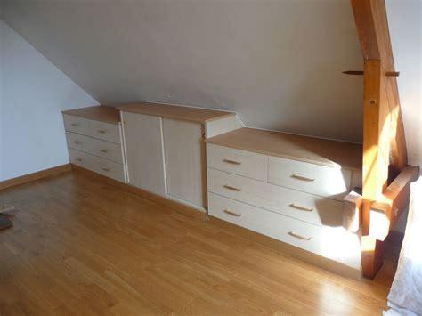 amenagement placard chambre 1000 images about meubles rangement sous pente en