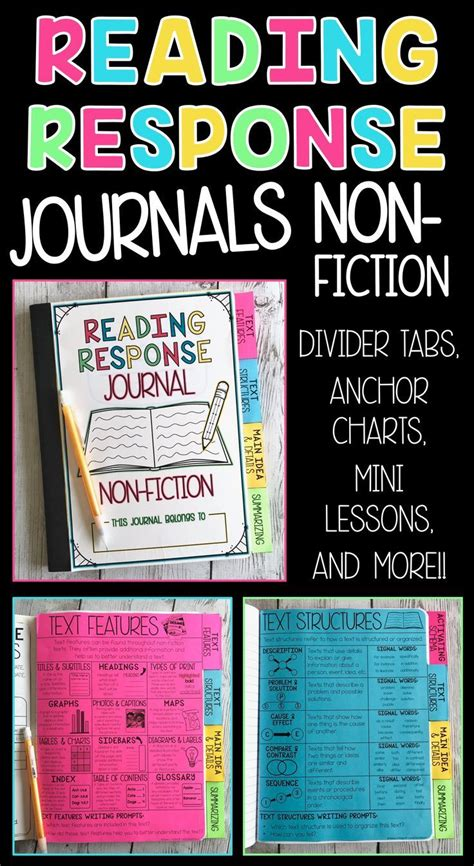 reading response journal cover 1000 ideas about reading response journals on