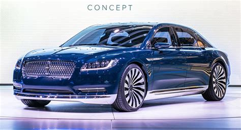 2018 Lincoln Continental Review Release Date, Price