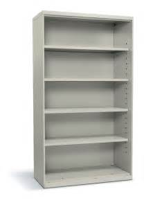 Hon Bookcases by Hon Flagship 5 Shelf Metal Bookcase