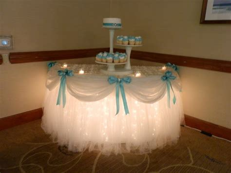 6 adorable ideas for your dessert table wedmegood - Lights Under Cake Table