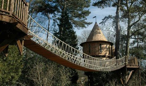 this is the kind of luxury treehouse that both kids and