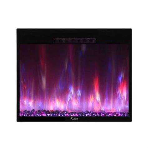 electric fireplace insert menards caesar 42 quot electric fireplace insert at menards 174
