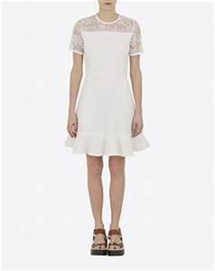robe de mariee mariage civil robe blanche unie a With robe mariage civil avec alliance homme