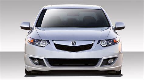 2009 Acura Tsx Kit by 2009 Acura Tsx Fiberglass Front Lip Add On Kit