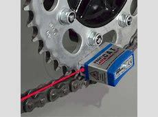 Aparato con laser para la alineacion de cadenas y correas