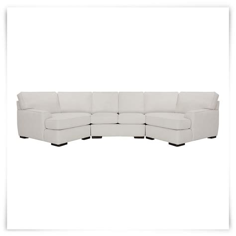 City Furniture: Austin White Fabric Dual Cuddler Sectional