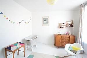 chez laetitia du blog vert cerise With tapis chambre enfant avec canapé retro scandinave