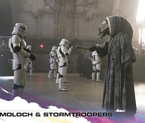 Moloch and the Stormtroopers #toppsstarwars #hansolo # ...